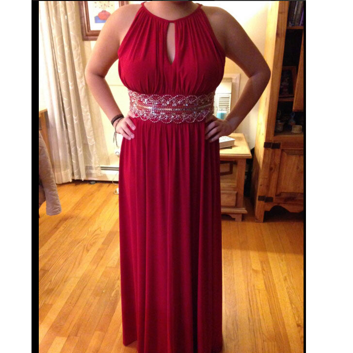 Red Long Prom Dress Evening Party Dresses pst0739
