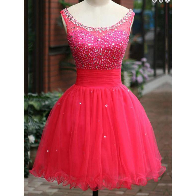 2016 Homecoming Dress Short Prom Party Dress pst0875