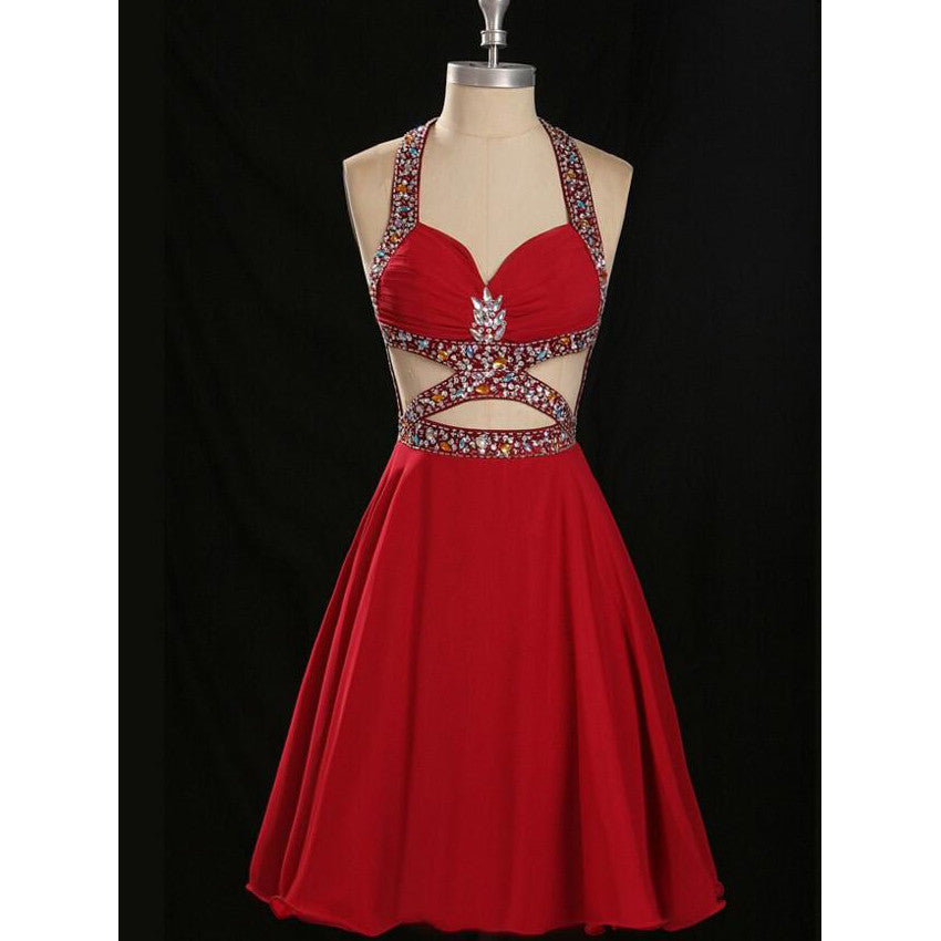 Sexy Homecoming Dress Short Prom Party Gown pst0880