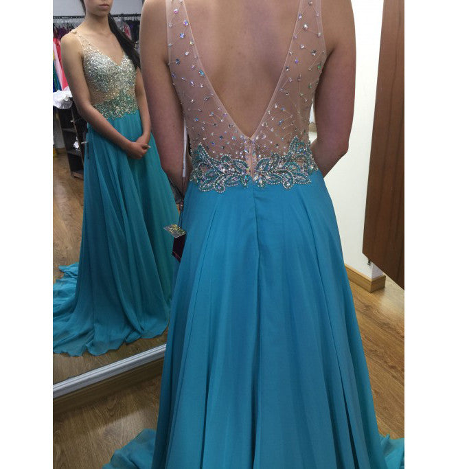 Fashion Prom Dress Long Evening Party Dresses pst0910