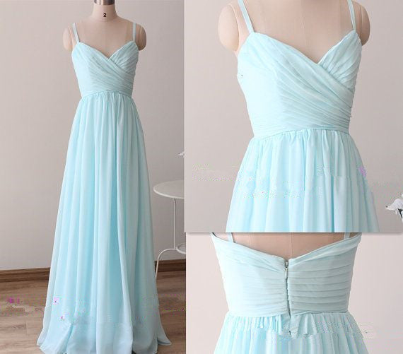 Simple Evening Dress Prom Dresses pst0922