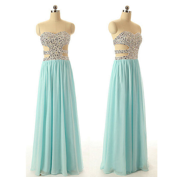Prom Dress With Stones Prom Dresses pst0936