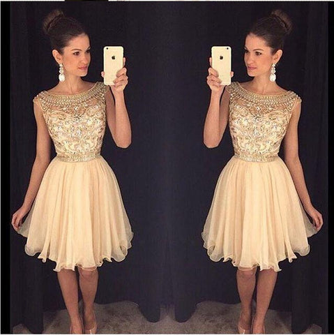 2016 Homecoming Dresses Short Summer Prom Party Dress pst0969