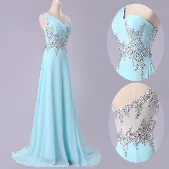 Single Strap Prom Dresses Cocktail Dress Party Gown pst0983