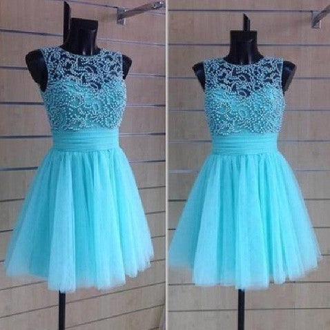 2016 Homecoming Dress Short Prom Party Dresses pst1002