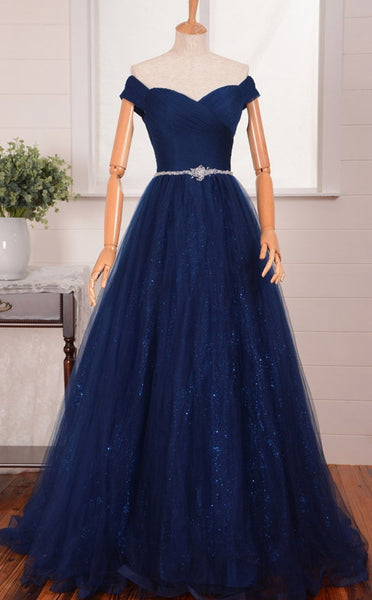 New Fashion Prom Dress Off The Shoulder Straps Prom Dresses Evening Gown pst1208