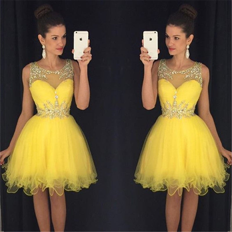 2016 Homecoming Dress Short Prom Dresses Sweet 16 Dress Graduation Dress Semi Formal Dress pst1314