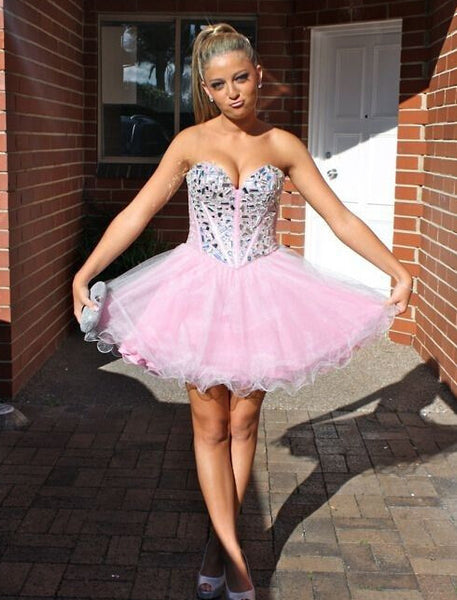 Homecoming Dresses Short Prom Party Dress pst1329