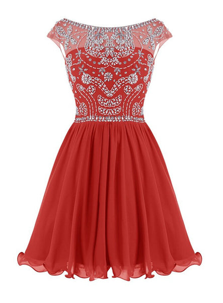 Homecoming Dress 2016 Short Prom Dresses pst1369