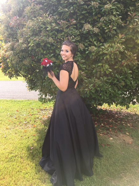 Black Prom Dress Prom Dresses Wedding Party Gown Cocktail Formal Wear pst1408
