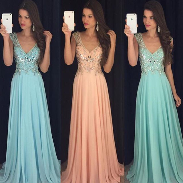 Fashion Prom Dress Prom Dresses Wedding Party Gown Cocktail Formal Wear pst1420