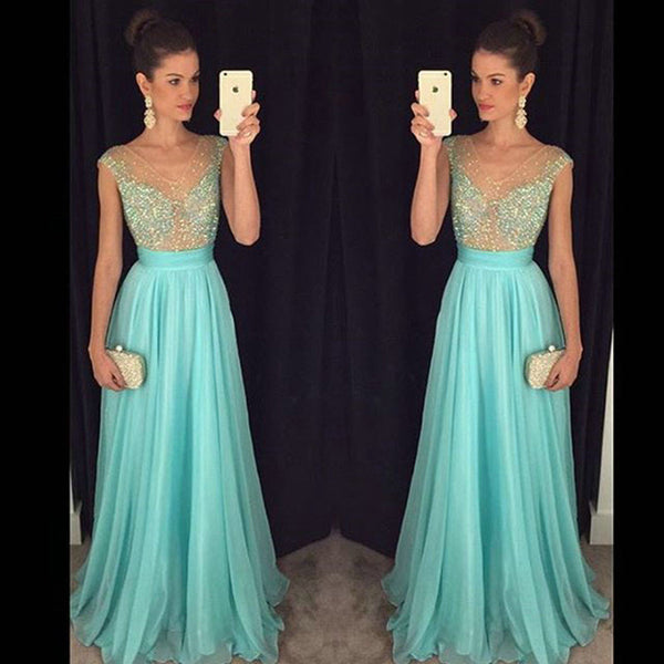 Fashion V Neckline Prom Dress Party Gown Cocktail Formal Wear pst1442