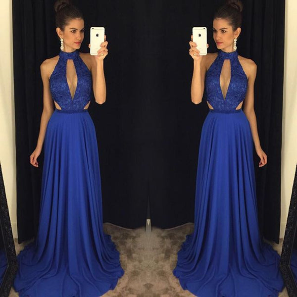 Royal Blue Prom Dress Prom Dresses Party Gown Cocktail Formal Wear pst1454