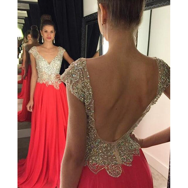 Backless Prom Dress Party Gown Cocktail Formal Wear pst1531