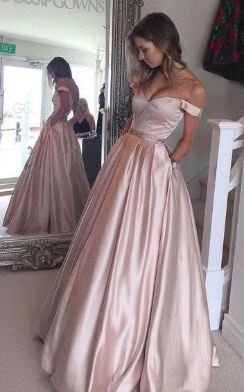 Prom Dress 2017, Off the Shoulder Prom Dress, Ball Gown, Graduation Dresses, Formal Dress For Teens, pst1573