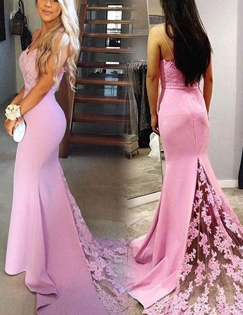 Sexy Mermaid Prom Dress, Long Prom Dresses, Party Gown, Graduation ...