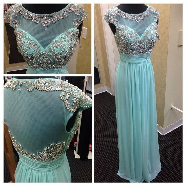 Beaded Chiffon Prom Dresses pst2010