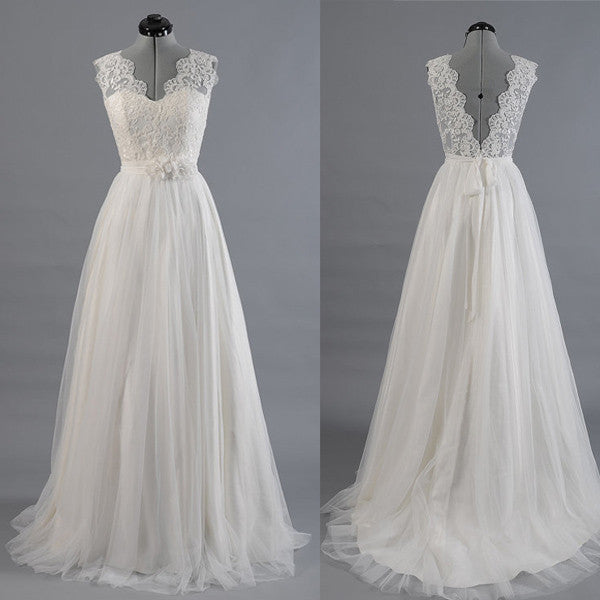 Lace Wedding Dress pwd0029
