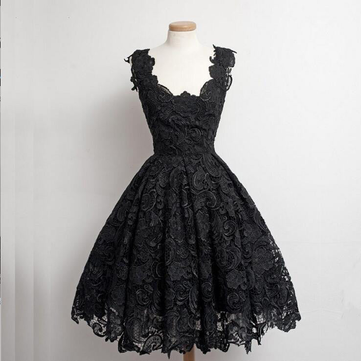 Black Short Homecoming Dresses Celebrity Prom Gowns pst0087