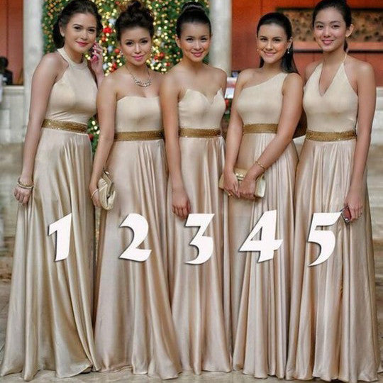 Multi Styles Floor Length Bridesmaid Dresses pst0242