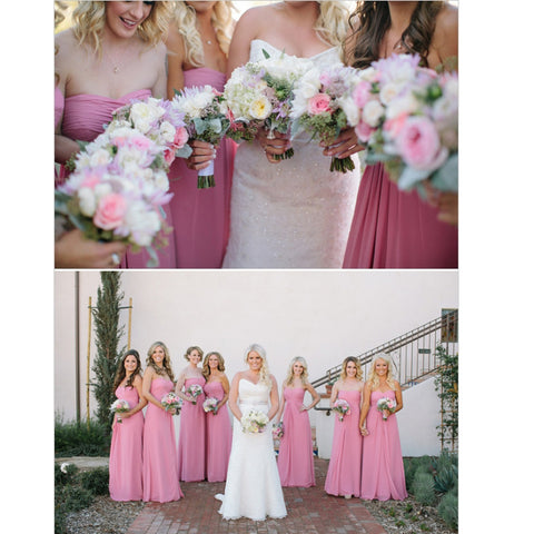 Floor Length Bridesmaid Dresses pst0251