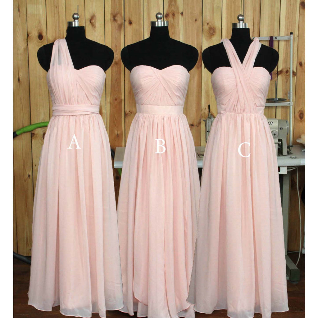 Multi Styles Floor Length Bridesmaid Dresses pst0255