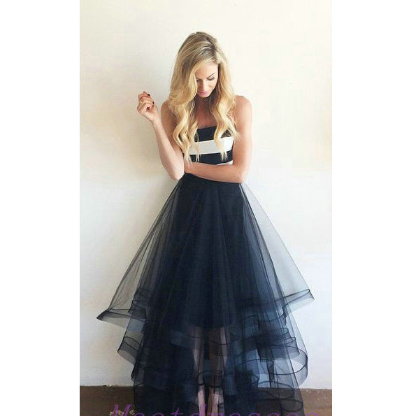 2016 Tulle Prom Dresses pst0340