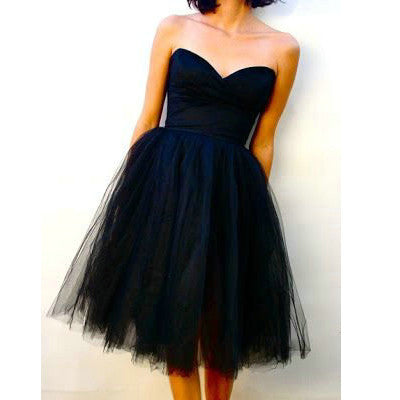 Dark Blue Short Dress Navy Blue Homecoming Dresses pst0357