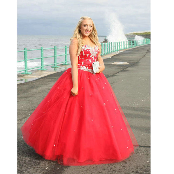 Ball Gown Prom Dresses Floor Length pst0364