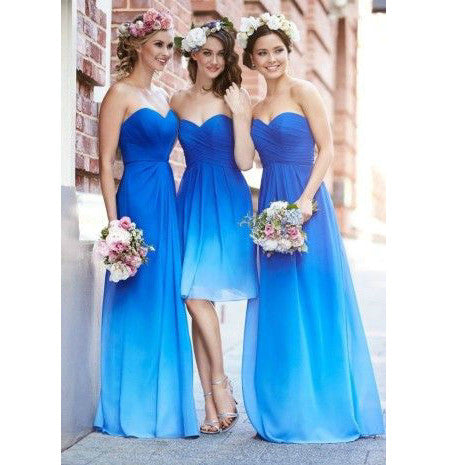 Gradient Bridesmaid Dresses pst395