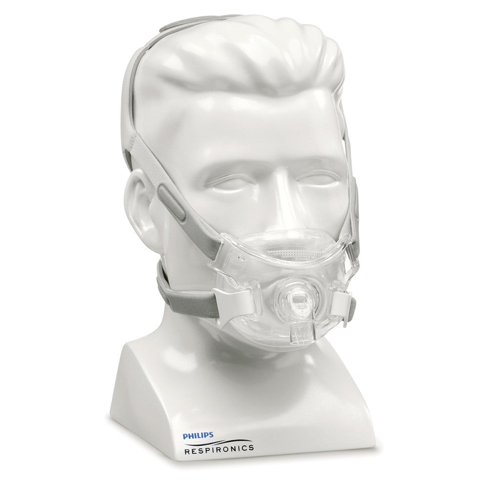 Philips Respironics Amara View Full Face CPAP Mask with Headgear Fitpack (sizes small, medium, large included)