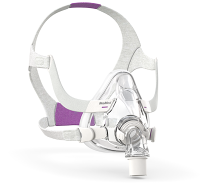 resmed airfit f20 for her full face cpap mask with headgear cpap