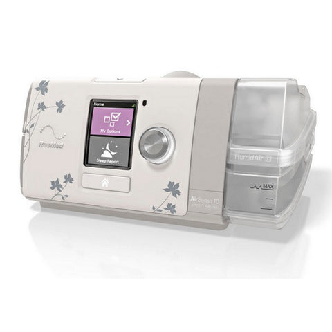 ResMed AirSense™ 10 AutoSet™ CPAP Machine FOR HER w/ HumidAir™ Humidifier and Slimline Tube