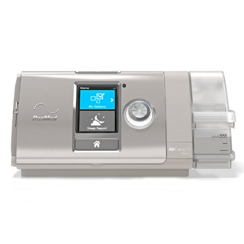 Resmed AirCurve™ 10  Vpap auto (BiLevel) Machine with HumidAir™ Heated Humidifier with ClimateLineAir™ heated Tube