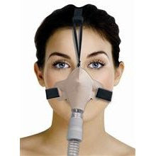SleepWeaver Advance Soft Cloth Nasal CPAP Mask & Hedgear