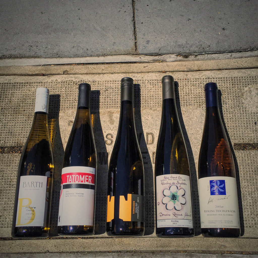 7/24 Sunday Wine Flight:  SUMMER OF RIESLING