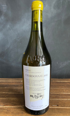 Les Matheny 2015 Chardonnay, AOC Arbois, France