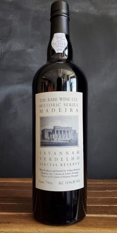 Rare Wine Co. NV Historic Series 'Savannah' Verdelho Madeira Special Reserve, Madeira, Portugal