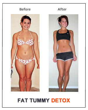 Before & After - Weight Loss Photos - Fat Tummy Detox