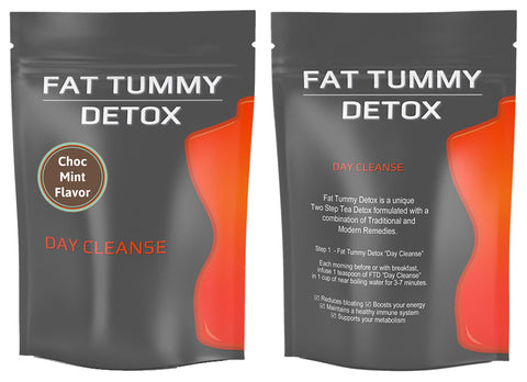 Fat Tummy Detox Day Cleanse - Choc Mint