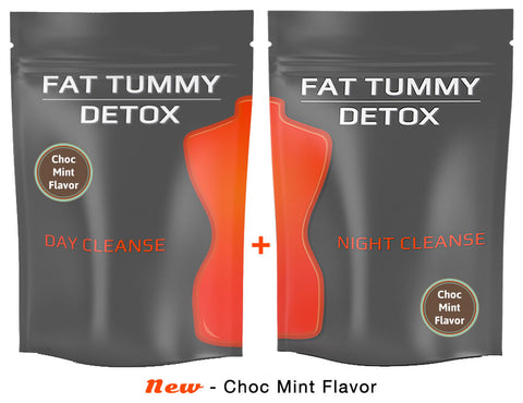 FAT TUMMY DETOX - Choc Mint Flavor