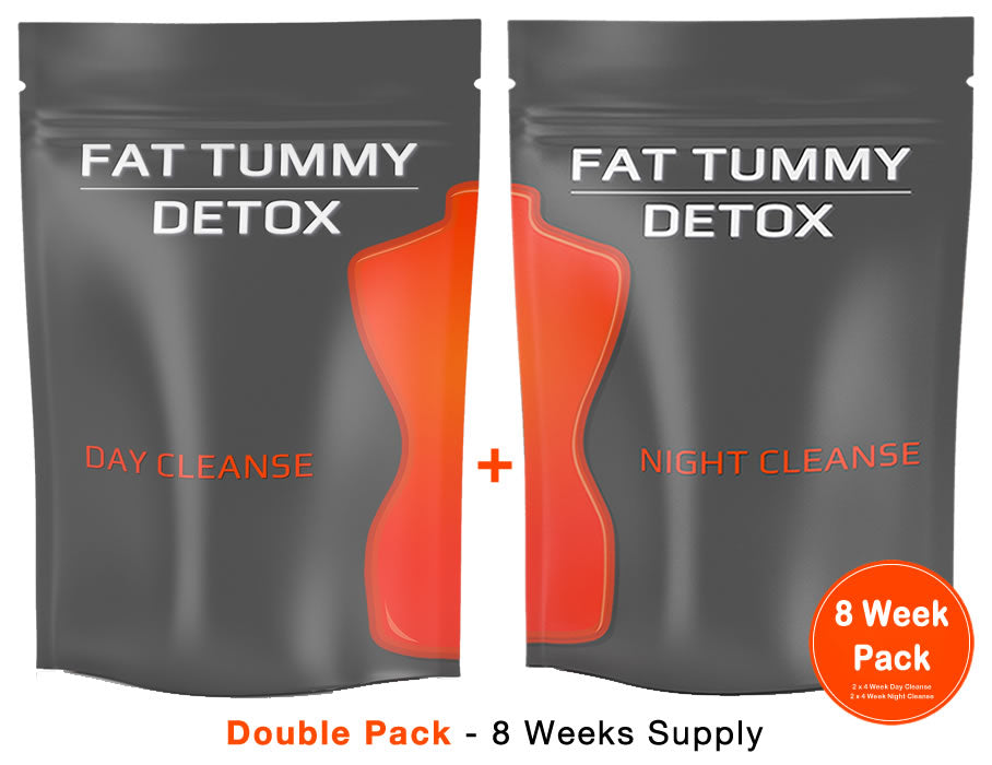 Fat Tummy Detox - Double Pack - 2 x 4 Week