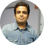 Abhijit uses hair regrowth serum