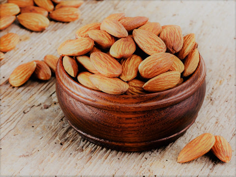 Foods for hair growth Almonds