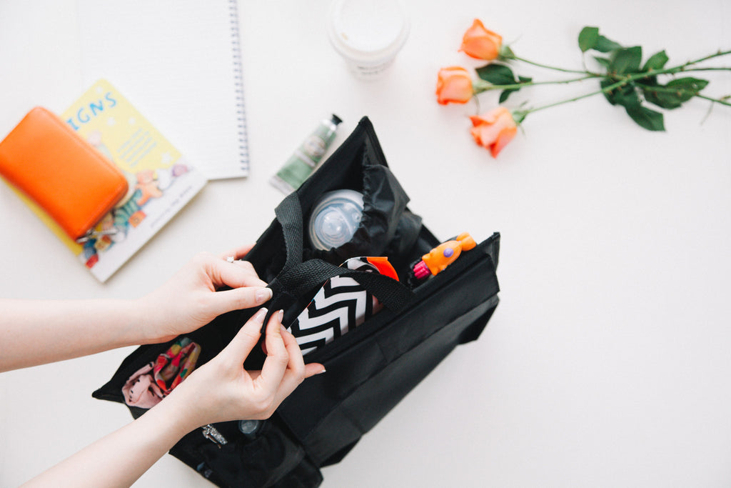 tote organizer for mom