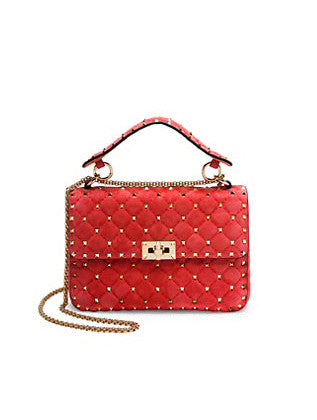 Сумка Valentino Rockstud Spike Medium | Valentino Rockstud Spike Medium Bag in Red