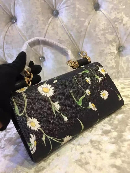Сумка Дольче Сицилия мини | DG Mini Sicily Black Bag