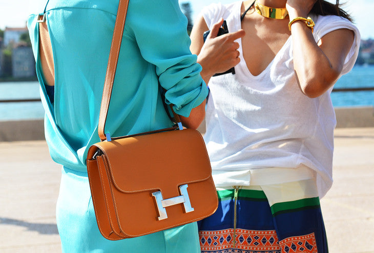 Сумка Hermes Constance оранж | Hermes Birkin Constance orange