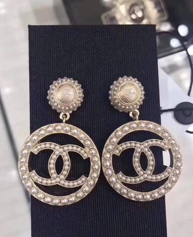 Серьги Шанель | Earrings brand