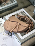 Сумка Dior Suddle сатин | Satin suddle bag